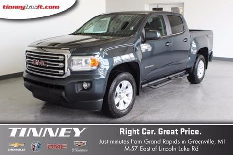 2017 GMC Canyon for sale in Greenville, MI