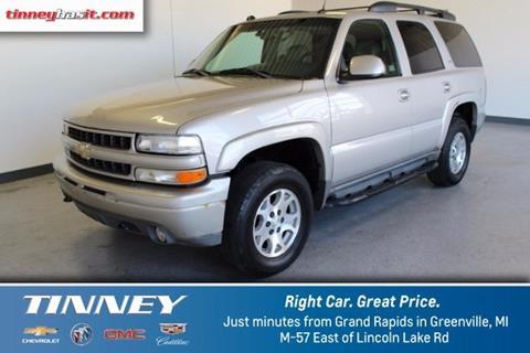 2005 Chevrolet Tahoe for sale in Greenville, MI