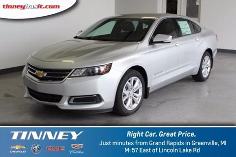 2017 Chevrolet Impala for sale in Greenville MI