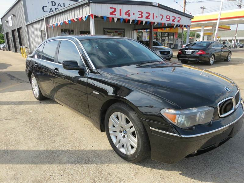 2004 BMW 7 Series 745Li 4dr Sedan - Dallas TX