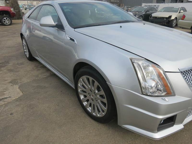 2011 Cadillac CTS 3.6L Performance AWD 2dr Coupe - Dallas TX