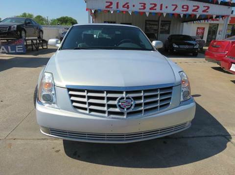2007 Cadillac DTS for sale in Dallas, TX