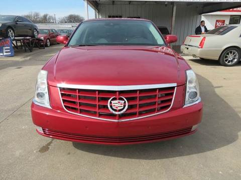 2011 Cadillac DTS for sale in Dallas, TX