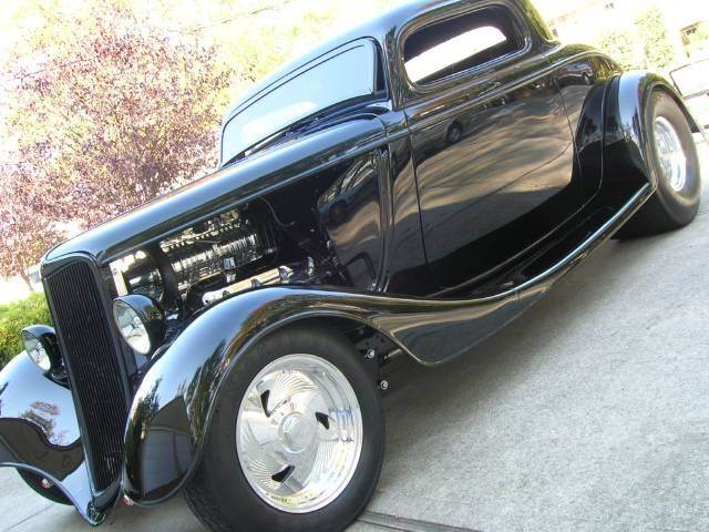 1933 Ford Pro-Street 3 Window Coupe