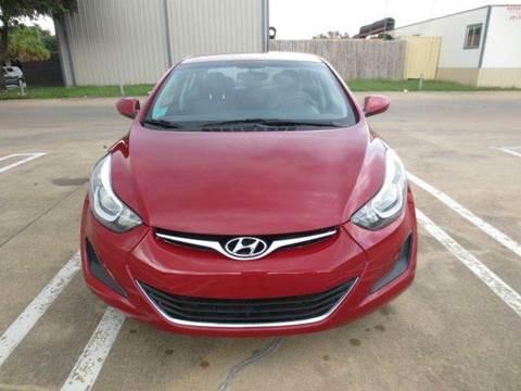 2016 Hyundai Elantra for sale in Houston, TX