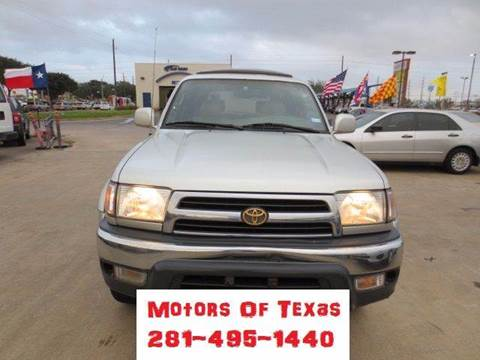 2000 Toyota 4Runner for sale in Houston, TX