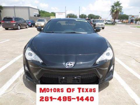 2015 Scion FR-S for sale in Houston, TX