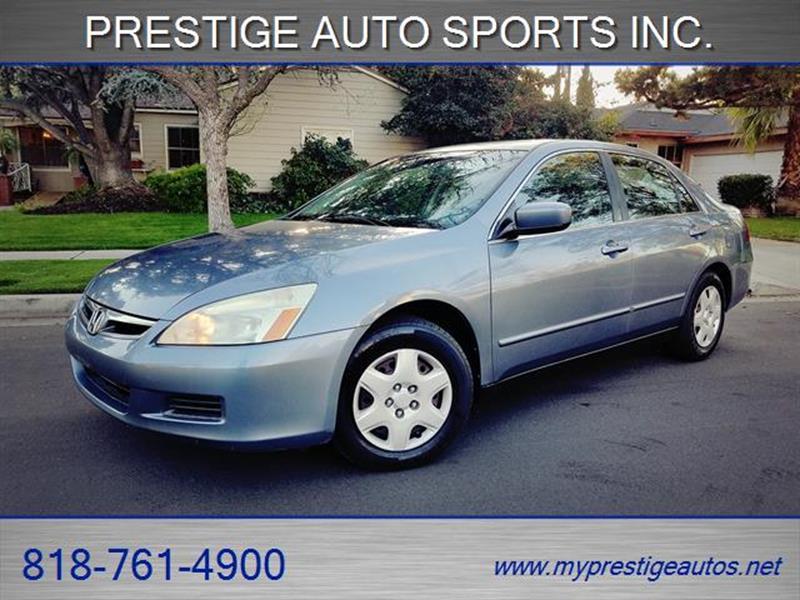 2007 Honda Accord LX 4dr Sedan (2.4L I4 5M) In North Hollywood CA ...