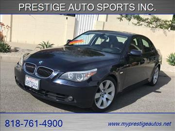 2007 BMW 5 Series for sale in North Hollywood, CA