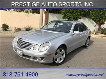 2007 Mercedes-Benz E-Class for sale in North Hollywood, CA