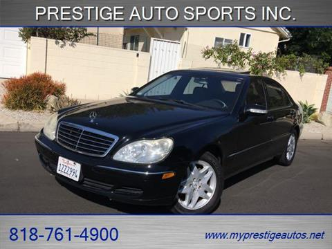 2003 Mercedes-Benz S-Class for sale in North Hollywood, CA