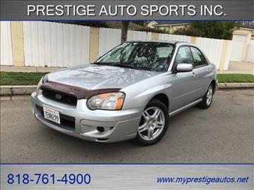 2004 Subaru Impreza for sale in North Hollywood, CA