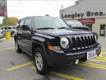 2016 Jeep Patriot for sale in Fulton, NY