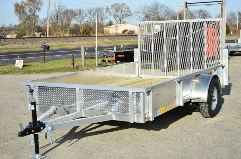 2016 Continental Cargo 76 x 12 Aluminum Utility with