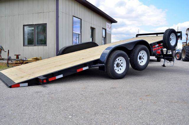 2012 Trailerman 20ft x 83in Hydro Tilt Flat Bed  - Fortville (Indianapolis) IN