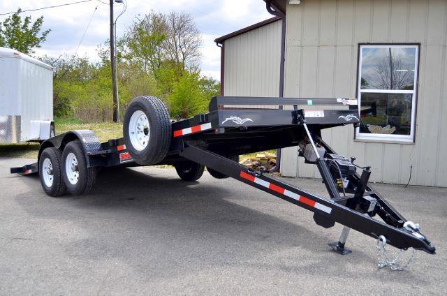 2012 Trailerman 20ft x 83in Hydro Tilt Flat Bed  - Fortville IN