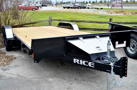 2017 Rice Trailers 82x20 7k Magnum Car Hauler