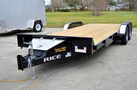 2017 Rice Trailers 82 x 20 7k Magnum Car Hauler