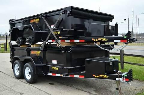 2017 Doolittle 72 x 12 10k Dump