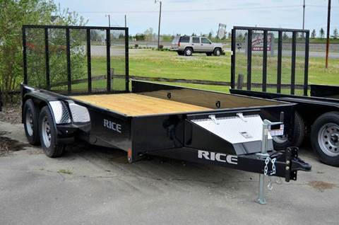 2017 Rice Trailers 82 X 14 7k Stealth Utility