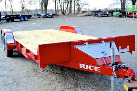2016 Rice Trailers 82 X 20 7k Magnum Car Hauler