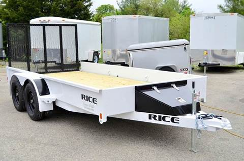 2016 Rice Trailers 76 x 14 7k Stealth