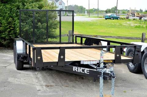 2016 Rice Trailers 82 x 16 7k Stealth