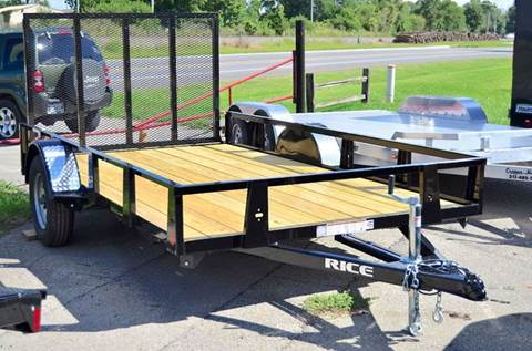2017 Rice Trailers 76 x 12 Utility