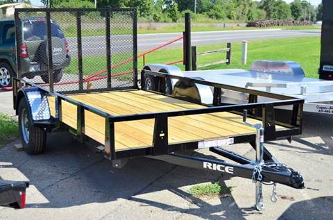 2016 Rice Trailers 76 x 12 Utility