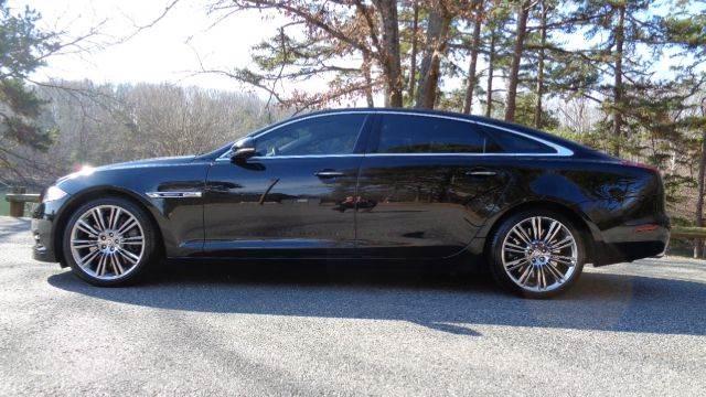 2012 jaguar xjl supercharged 4dr sedan black sedan v8 supercharged automati used jaguar. Black Bedroom Furniture Sets. Home Design Ideas