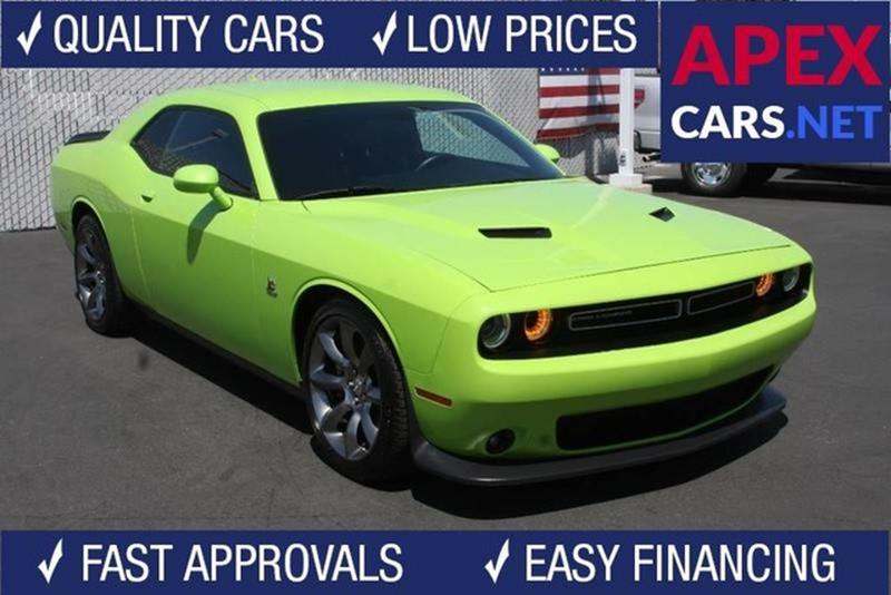 2015 Dodge Challenger R T Scat Pack 2dr Coupe In Fremont Ca Apex
