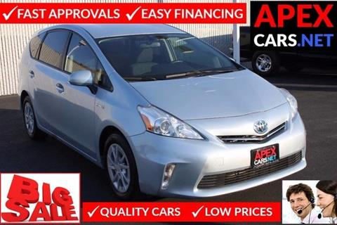 2012 Toyota Prius v for sale in Fremont, CA