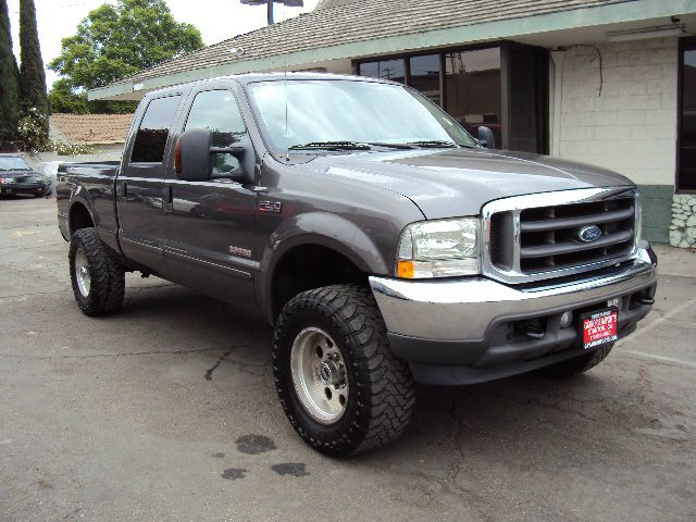 2004 FORD F250 LARIAT CREW CAB 2WD grey abs brakesair conditioningalloy wheelsamfm radioanti-
