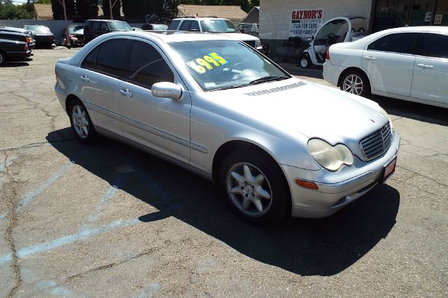 2003 MERCEDES-BENZ C-CLASS C320 brilliant silver metallic this is a nice small mercedes with all t