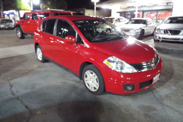 2010 NISSAN VERSA 18 SL 4DR HATCHBACK red abs - 4-wheel air filtration airbag deactivation - o