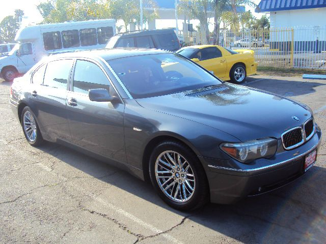 2005 BMW 7 SERIES 745LI 745LI 4DR SEDAN dark grey 18 inch wheels abs - 4-wheel alloy wheels ant