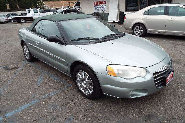 2004 CHRYSLER SEBRING LIMITED silver frost air conditioning alloy wheels amfm radio wcd playe
