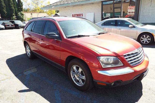 2004 CHRYSLER PACIFICA BASE AWD 4DR WAGON maroon all wheel drive 6 cylinder automatic full power
