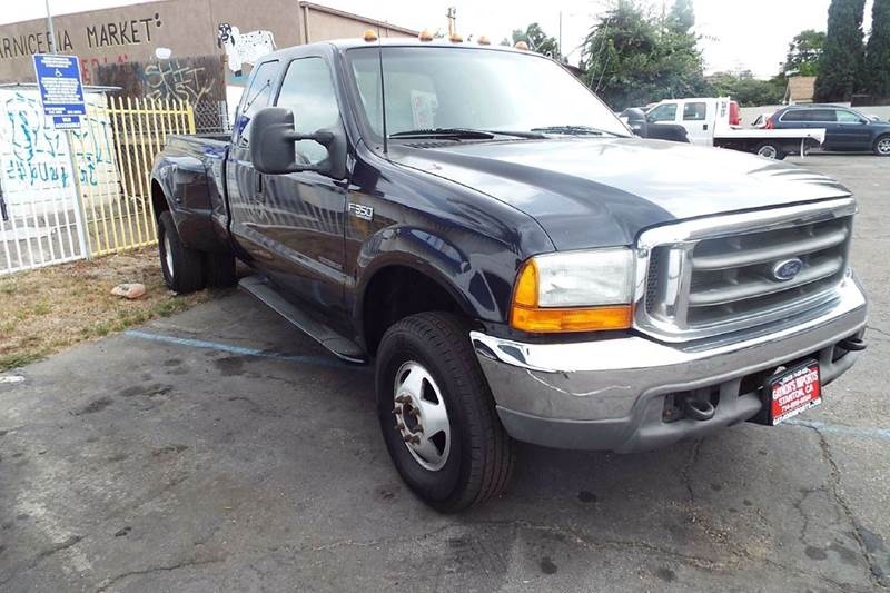 2000 FORD F-350 SUPER DUTY XLT 4DR 4WD EXTENDED CAB LB blue this is a hard to find 73 turbo dies
