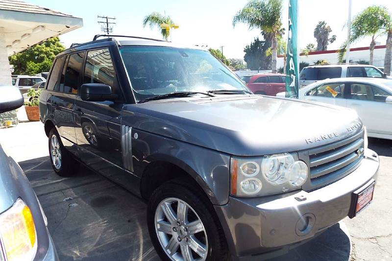 2006 LAND ROVER RANGE ROVER HSE 4DR SUV 4WD grey 4wd type - full time abs - 4-wheel active susp