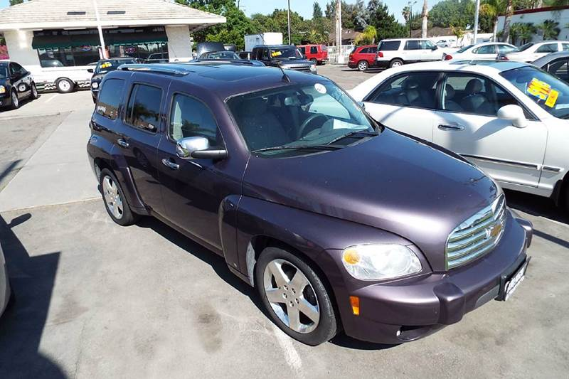 2006 CHEVROLET HHR LT 4DR WAGON purple full power  chrome alloy wheels  moon roof tints this is a