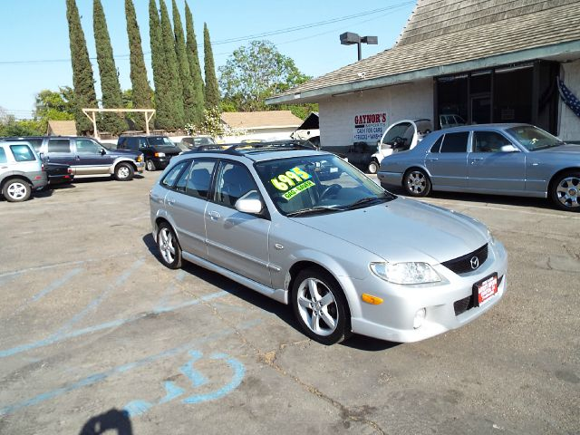 2003 MAZDA PROTEGE5 4DR WAGON silver full power alloy wheels and a sporty looking wagon 16 inch wh