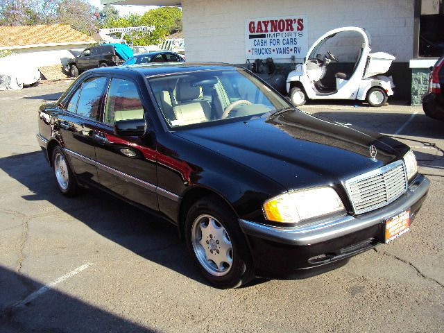 1998 MERCEDES-BENZ C-CLASS C230 black this is a good running 4 cylinder mbz this vehicle as only d