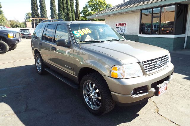 2004 FORD EXPLORER XLT 4DR SUV grey leather with custom wheels abs - 4-wheel alloy wheels anti-t