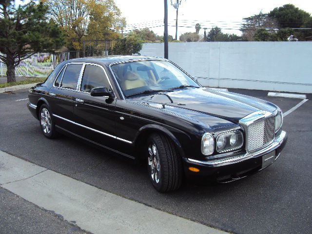 2000 BENTLEY ARNAGE RED LABEL black rear defroster traction control fog lamps driver air bag a