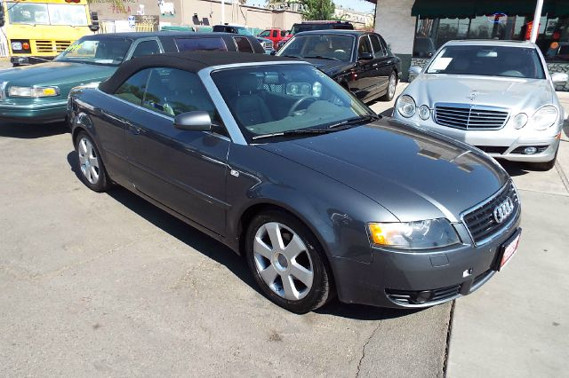 2006 AUDI A4 18T 2DR CONVERTIBLE grey abs - 4-wheel air filtration anti-theft system - alarm a