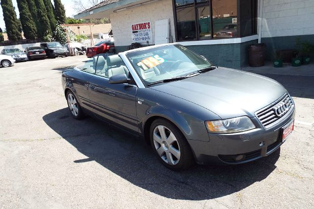 2006 AUDI A4 18T 2DR CONVERTIBLE grey abs - 4-wheel air filtration anti-theft system - alarm