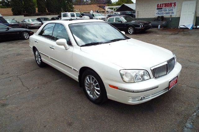 2004 HYUNDAI XG350 L 4DR SEDAN white abs - 4-wheel anti-theft system - alarm cassette center c