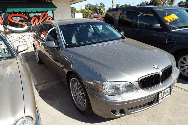2006 BMW 7 SERIES 750LI 4DR SEDAN grey abs - 4-wheel active suspension air filtration airbag d