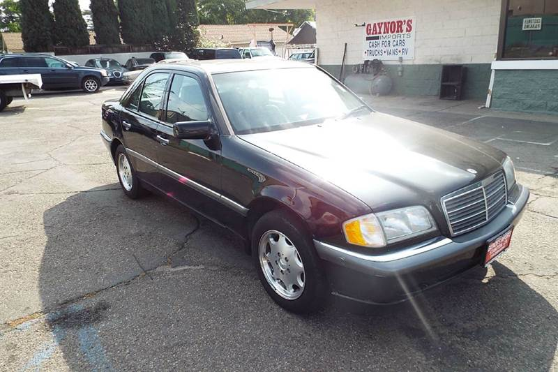 2000 MERCEDES-BENZ C-CLASS C230 SUPERCHARGED 4DR SEDAN black abs - 4-wheel anti-theft system - a